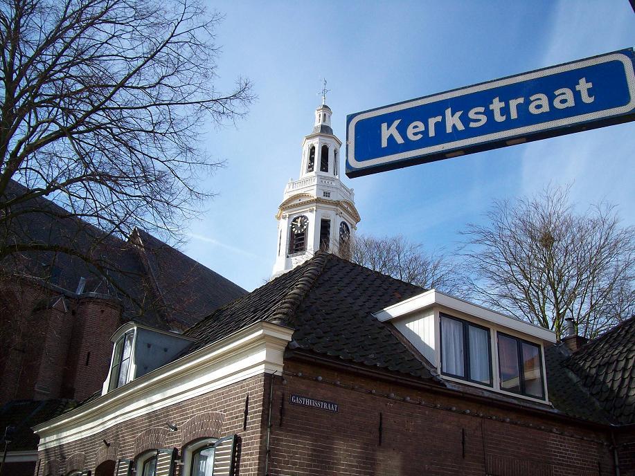 blog over christen-zijn in de Kerkstraat
