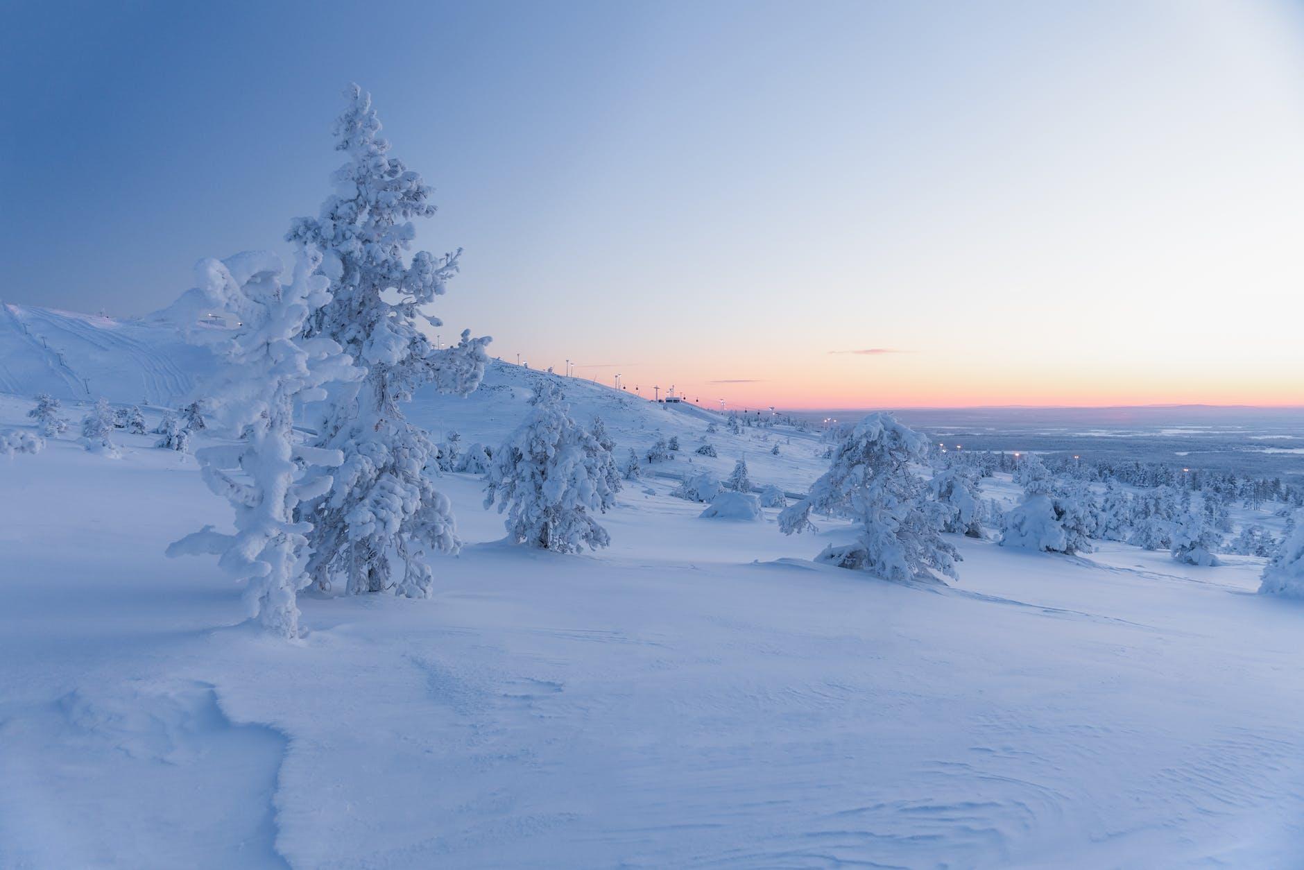 sneeuw in christelijke liederen of geloofsliederen